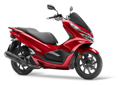 Nová Honda PCX 125