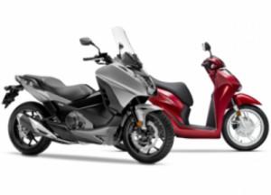 Skútry Honda